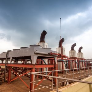 At The Top Of Alausa Power Plant