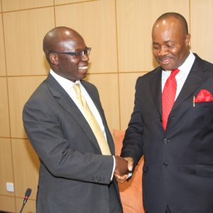 Wale Tinubu With Governor Akpabio Of Akwa-Ibom