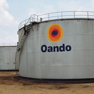 An Oando Tank Farm