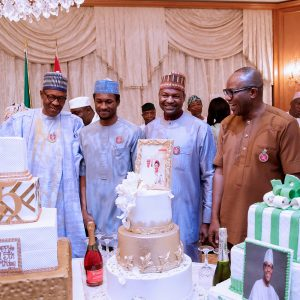 President Buhari's 75th Birthday, JAT, President Of Nigeria, Wale Tinubu, Buhari, PMB, Buhari 75th Birthday, PMB Birthday,