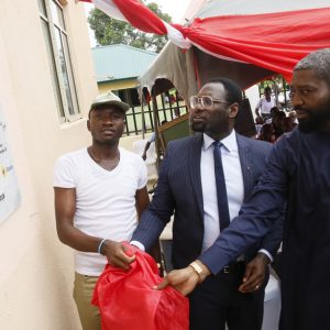 Commissioning And Handover Of Corpers Lodge In Tuoma Community, Burutu, Delta State