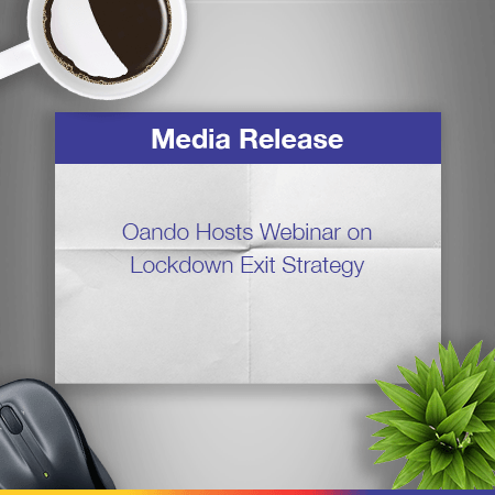 Oando Hosts Webinar On Lockdown Exit Strategy