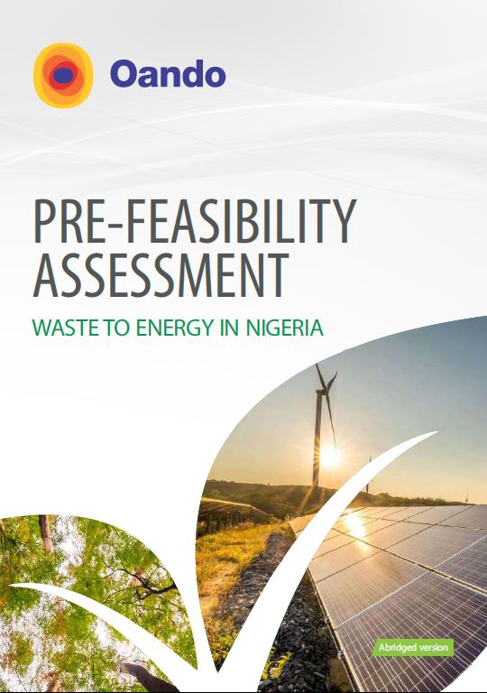 Oando Renewable Energy WTE
